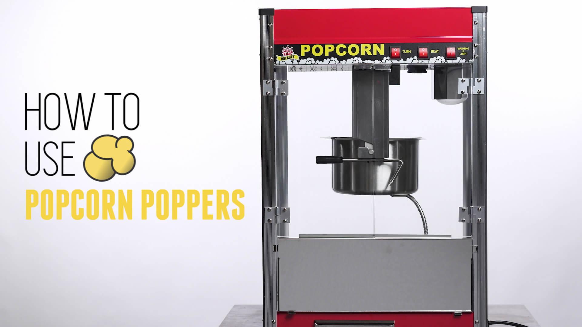 Best Commercial Popcorn Machine Reviews