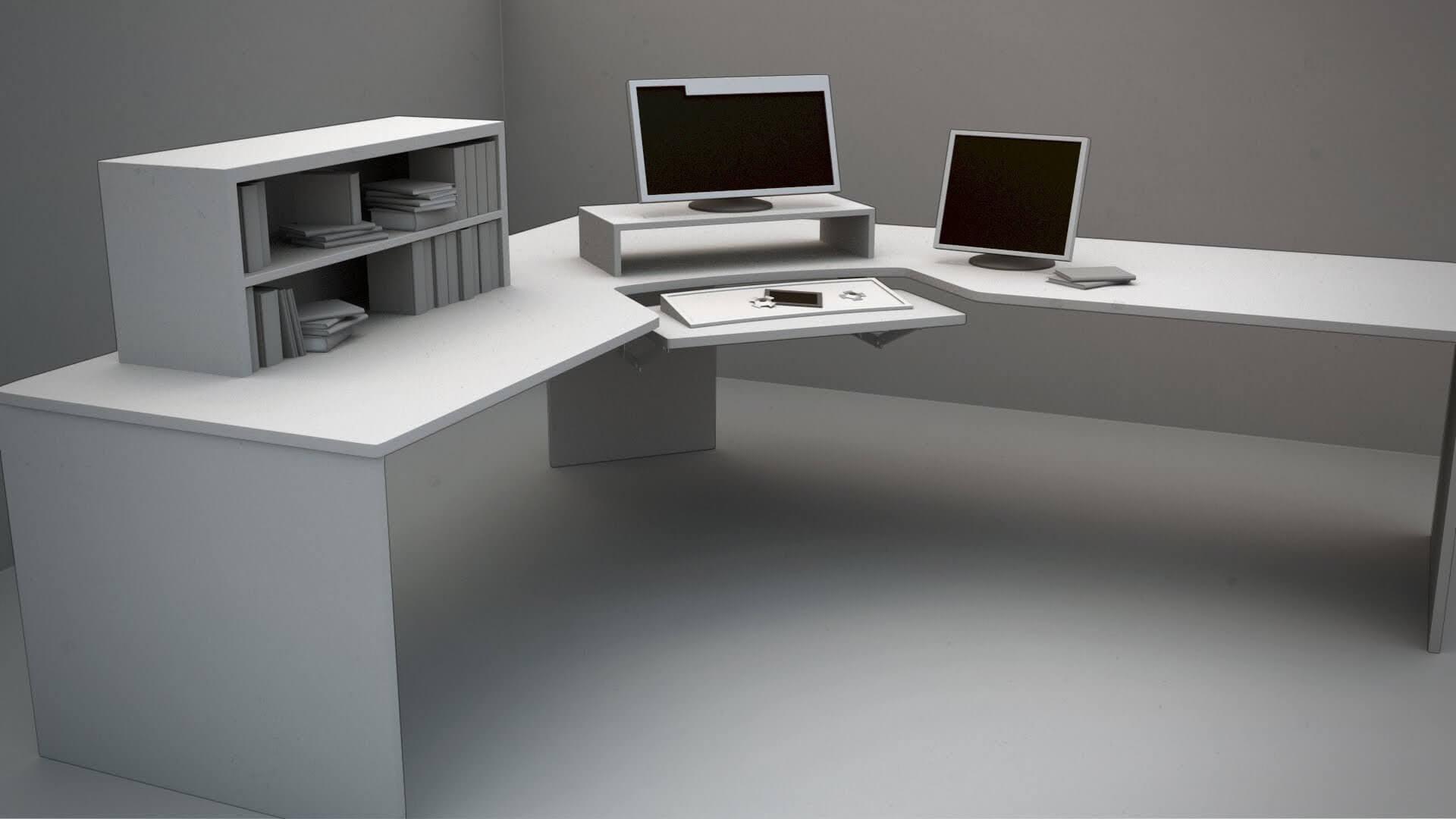 Picture of: Top 10 Best Corner Computer Desk To Buy In 2020 10 Unbeatable